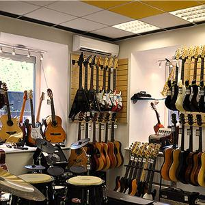 Музыкальные магазины Вознесенья